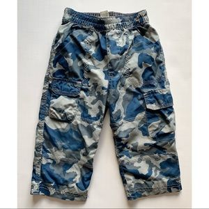 Other - Boys- Blue camouflage pants